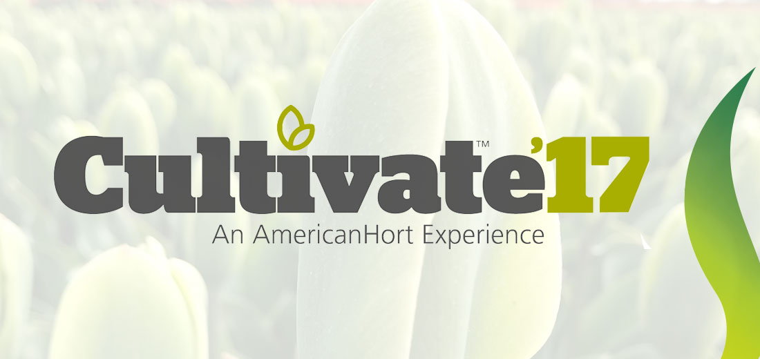 We Are Exhibiting At Cultivate '17